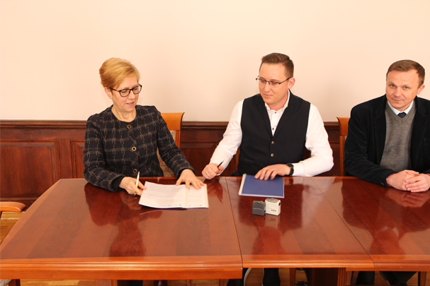 Podpisanie umowy na realizację inwestycji we Włocławku
