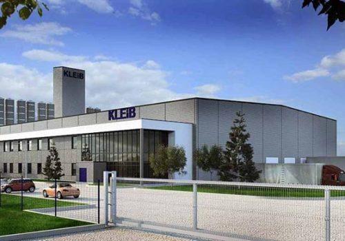 Rozbudowa budynku biurowego KLEIB