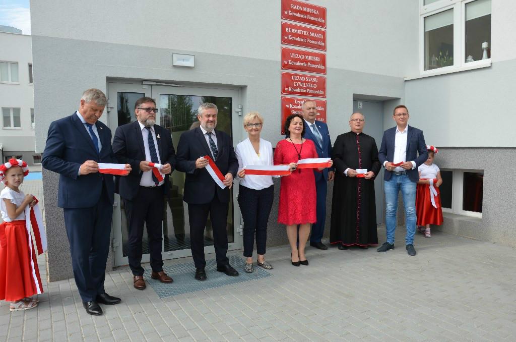 Uroczyste otwarcie nowej siedziby Urzędu Miejskiego oraz Przedszkola Publicznego w Kowalewie Pomorskim