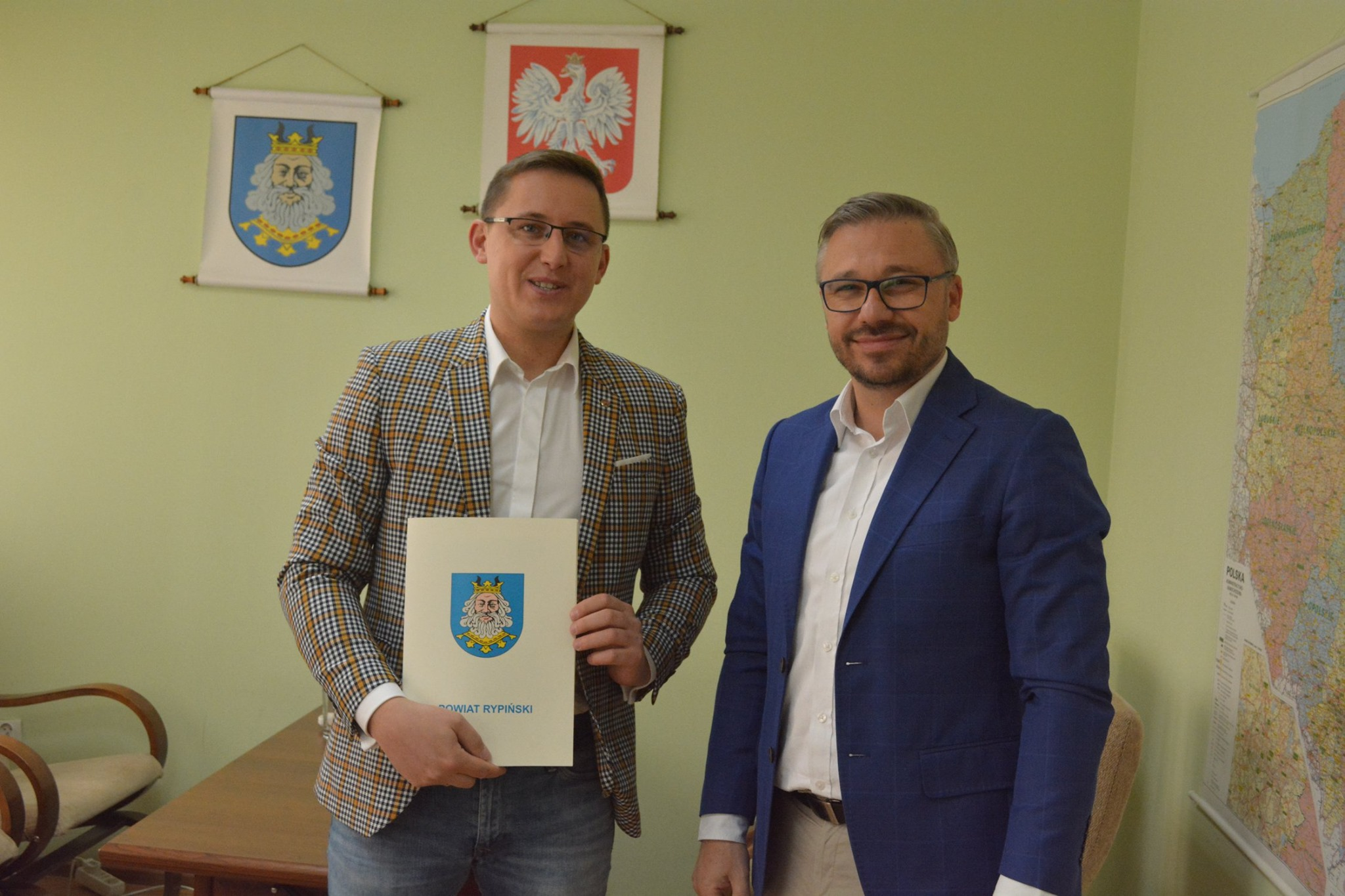 Podpisanie umowy na budowę placówki opiekuńczo-wychowawczej w Rypinie