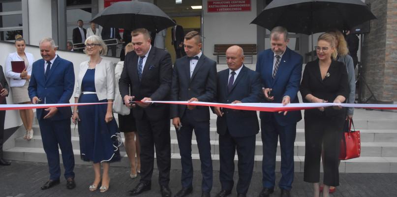 Uroczyste otwarcie Powiatowego Centrum Kształcenia Zawodowego w Lubieńcu